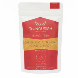 TeaNOURISH Darjeeling Autumnal Classic Black Tea, 50gm