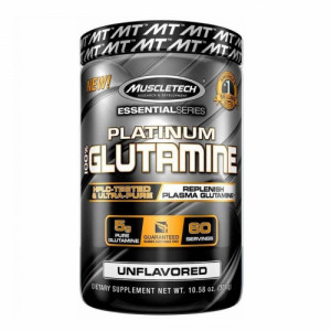 Muscletech Platinum Glutamine, 300gm