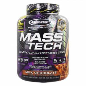 Muscletech Mass Tech Mass Gainer Milk Chocolate, 3.18kg