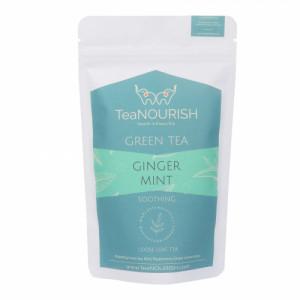 TeaNOURISH Ginger Mint Darjeeling Green Tea, 50gm