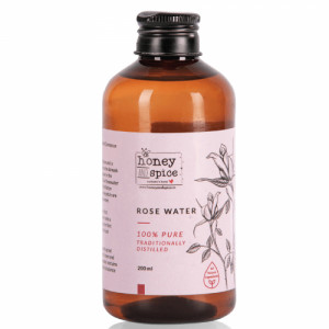 Honey And Spice Rose Water, 200ml