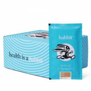 Habbit Active Whey Blend Protein Powder Caffe Latte Flavour, 450gm (15 Servings)