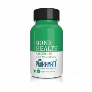 Purayati Bone Health Calcium, D3 and Minerals, 90 Tablets