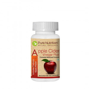 Pure Nutrition Apple Cider Vinegar Plus, 90 Capsules