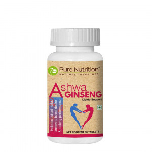 Pure Nutrition Ashwa Ginseng, 30 Tablets