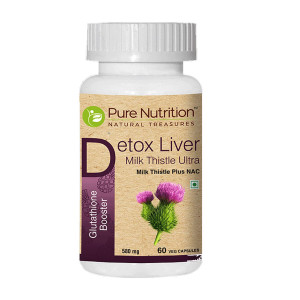 Pure Nutrition Detox Liver Milk Thistle Ultra, 60 Capsules