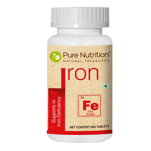 Pure Nutrition Iron, 60 Tablets
