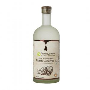 Pure Nutrition Raw Cold Pressed Virgin Coconut Oil, 500ml
