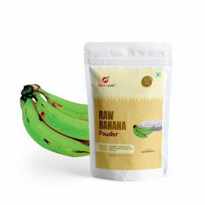 Nutribud Foods Raw Banana Powder, 200gm