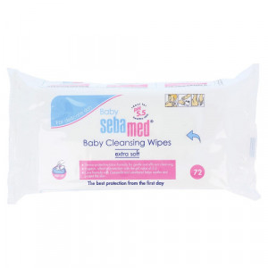 Sebamed Baby Cleansing Wipes, 72 Pcs