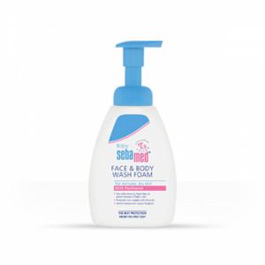 Sebamed Baby Face & Body Wash Foam, 400ml