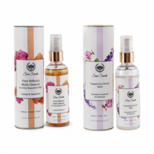 Seer Secrets Pore Refining MultiCleanser + Tranquility Facial Mist Combo Pack