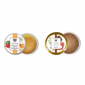 Seer Secrets Watermelon Turmeric & Coconut Lip Saviour and Lip Scrub Combo Pack