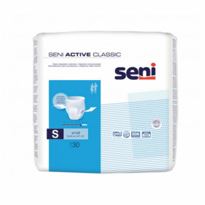 Seni Active Classic Breathable Pull-Ups Small, 30 Pieces