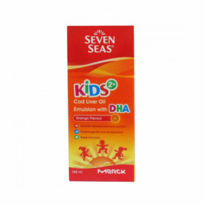 Seven Seas Kids 2+ Cod Liver Oil, 100ml