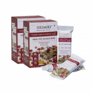 Sirimiri Pumpkin Seeds & Cranberries Nutrition Bar, 40gm (Pack Of 12)