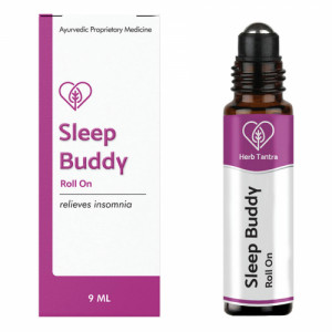 Herb Tantra Sleep Buddy Roll On, 9ml