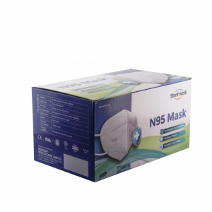 Sterimask 9091 N95 White Mask, 50 Pieces