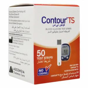 Contour TS Blood Glucose Test Strips, 50's