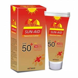 Sun-Aid Sunscreen Lotion SPF 50, 100gm