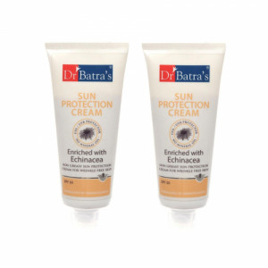 Dr Batra's Sun Protection Cream with SPF 30, 100gm (Pack Of 2)