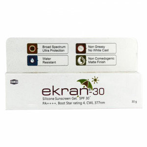 Ekran 30 Sunscreen Gel, 30gm