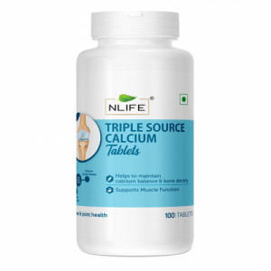 Nlife Triple Calcium, 100 Tablets