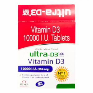 Ultra D3 10K, 15 Tablets