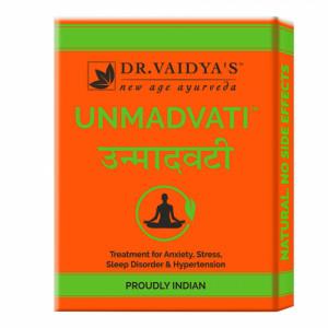 Dr. Vaidya's Unmadvati, 24 Pills ( Pack Of 3)