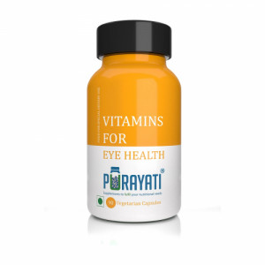 Purayati Vitamins for Eye Health, 90 Capsules