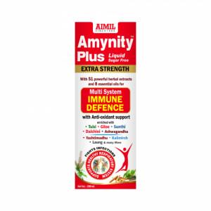 Amynity Plus Sugar Free Syrup, 200ml