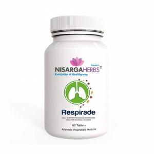Nisarga Herbs Respirade, 60 Tablets