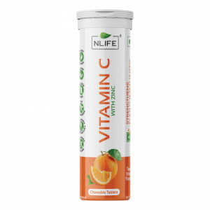 Nlife Vitamin C Chewable, 15 Tablets