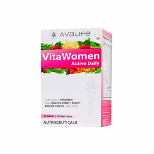 Avalife VitaWomen Active Daily, 60 Capsules