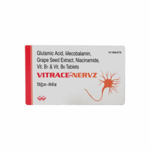 Vitrace Nervz, 10 Tablets