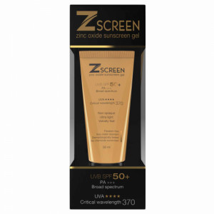 Z Screen Sunscreen Gel, 50ml
