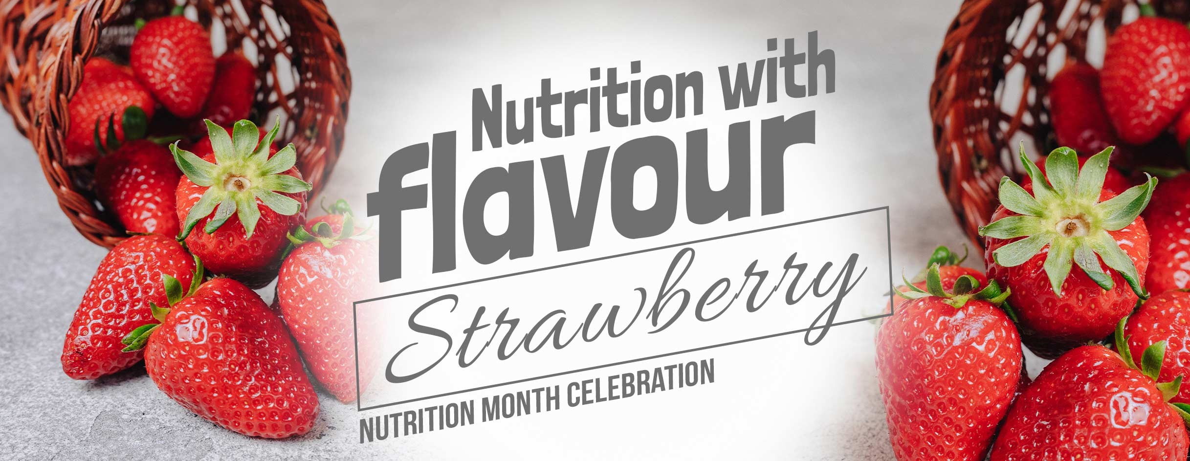 Nutrition With Strawberry Flavour